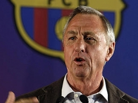 johan cruijff in camp nou