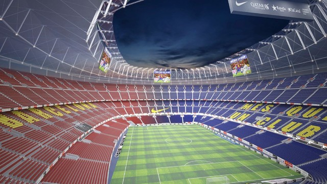 camp nou renovatie