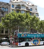 barcelona hop on hop off bus