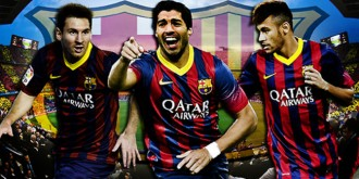 MSN, Messi, Suarez, Neymar