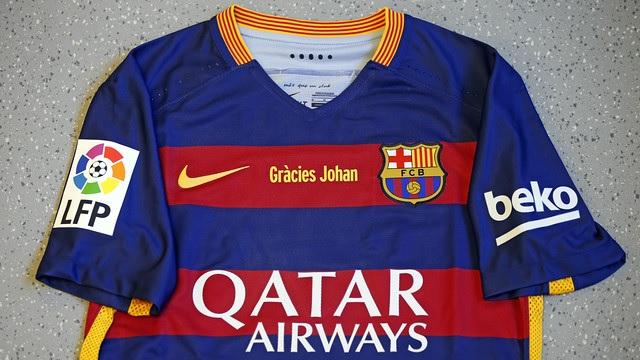 Speciaal shirt FC Barcelona - Real Madrid - El clasico