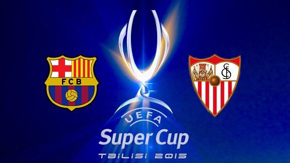 Barcelona - Sevilla Europese Super Cup