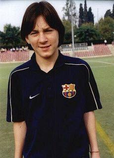 Jonge Lionel Messi