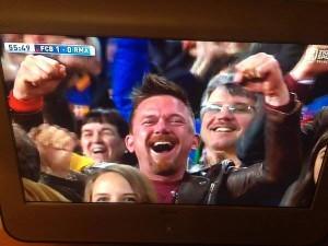 Johny de mol juicht voor Barcelona