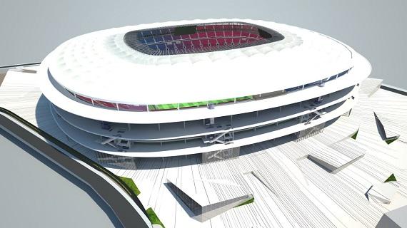 Verbouwing Camp Nou einde derde seizoen