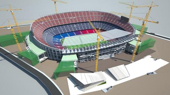 Verbouwing Camp Nou start zomer 2018
