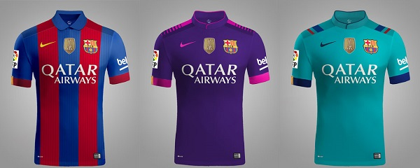 Shirt van FC Barcelona 16-17