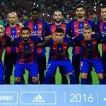 Barcelona wint de Spaanse Super Cup van Sevilla