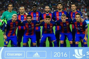 FC Barcelona wint van Sevilla in de Spaanse Super Cup