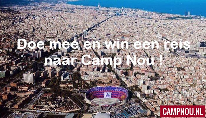 Win een voetbalreis naar Camp Nou!