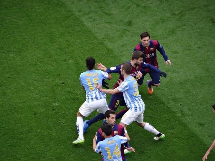 scrimmage FC Barcelona